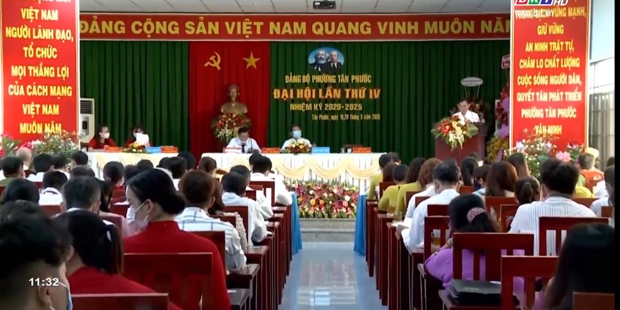 Đại hội Đảng bộ phường Tân Phước