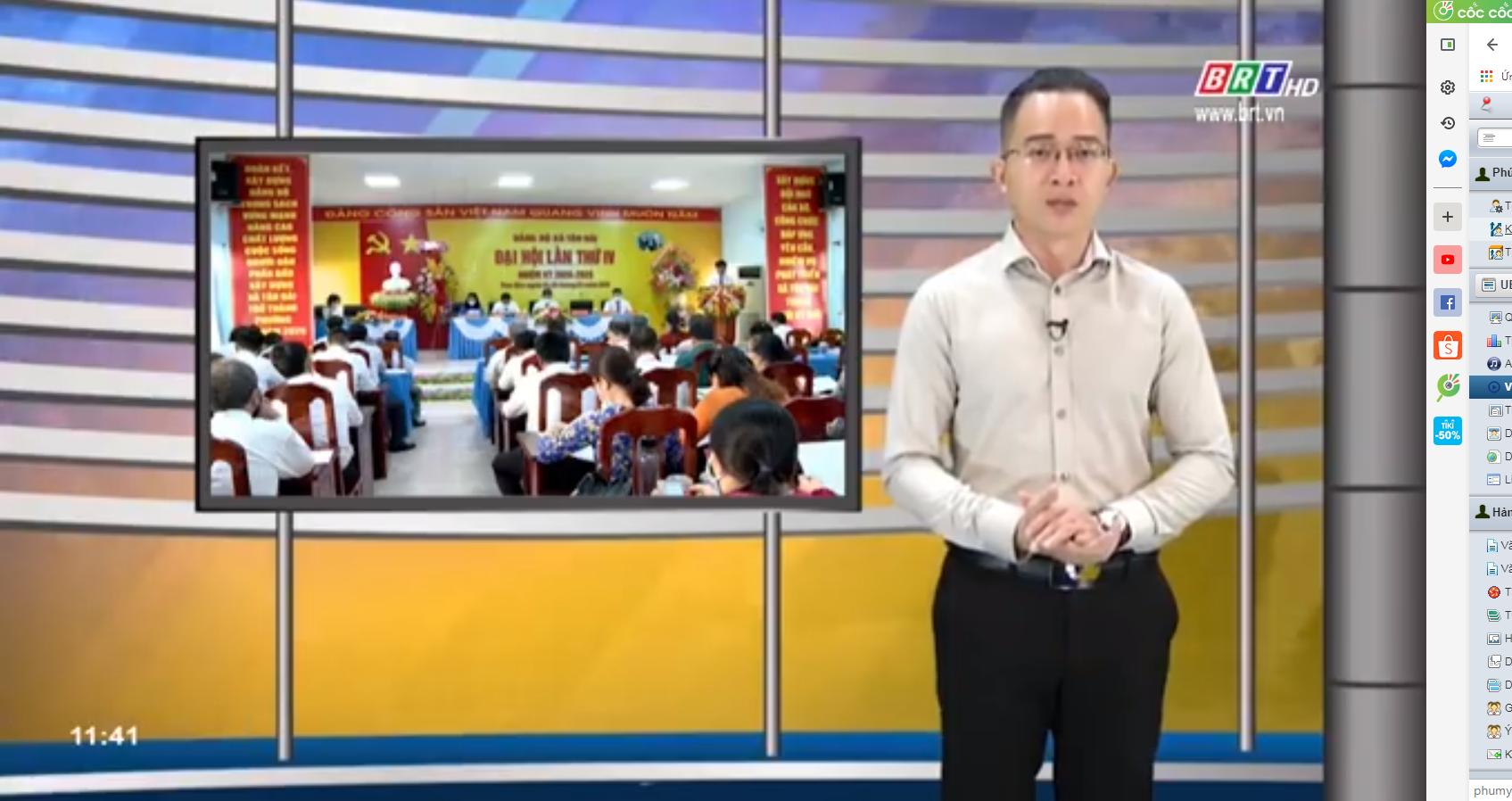 Đại hội Đảng bộ xã Tân Hải